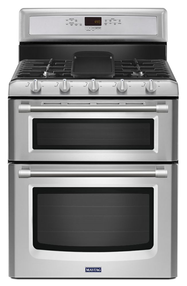 Mgt8820ds Maytag 30 Inch Wide Double Oven Gas Range With Convection