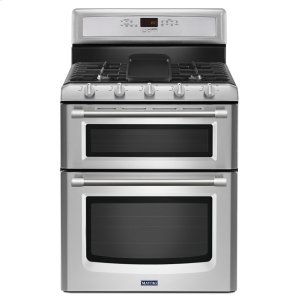 MAYTAG30-inch Wide Double Oven Gas Range with Convection - 6.0 cu. ft.