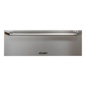"""DACORHeritage 27"""" Epicure Warming Drawer, in Black Glass with Black Handle and End Caps"""
