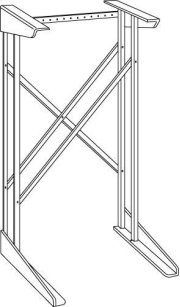 GE Spacemaker® Laundry Stack Rack Accessory Product Image