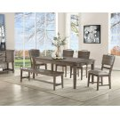 "Ryan Dining Bench 60""x17""x21"" Product Image"