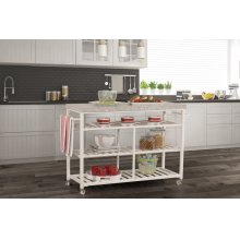 Kennon Kitchen Cart - Granite Top
