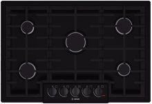 "30"" Gas Cooktop 800 Series - Black"