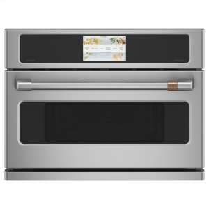 "Cafe AppliancesCafe 27"" Smart Five in One Oven with 120V Advantium (R) Technology"