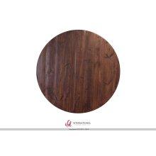 Wooden Bistro Base - Black rubbed finish