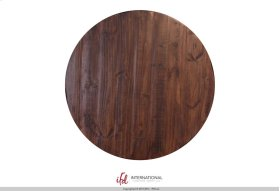 Bistro Top - Brown rubbed finish