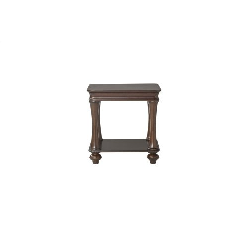 HUGHES 172003PT Traditional English Style Set Of 3 Dark Tables
