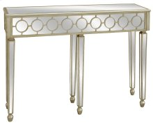 Circles Silver Consile Table