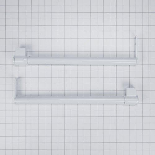 Handle Kit - White Top Mount Flat door