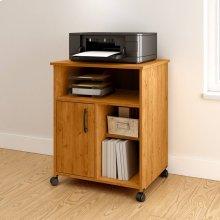 Printer Cart - Country Pine