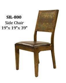 Urban Rustic Furniture In Urban Rustic Side Chair Hidden Sil800 In By Lmt And Western Imports San Marcos Tx