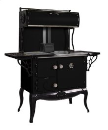 Black Waterford Stanley Woodburning Cookstove - Model WSERWBNB