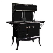Black Waterford Stanley Woodburning Cookstove - Model WSERWBNB