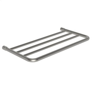 "Satin Nickel 20"" Hotel Shelf Frame"