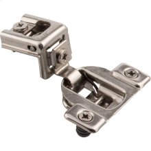 """Economical 2 Cleat 1-1/4"""" Overlay Self-close Cam Adjustable Face Frame Compact Hinge with 8 mm Dowels"""