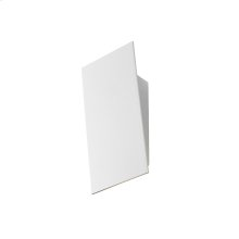 Angled Plane Narrow LED Sconce