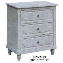 Callaghan 3 Drawer Cloudy Grey Chest