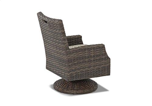 Cascade Swivel Rocking Dining Chair