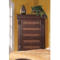 Grand Prado Cappuccino Six-drawer Chest Product Image