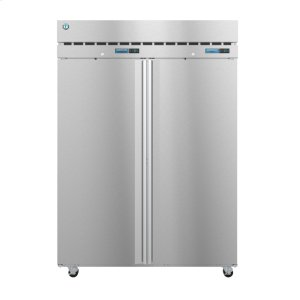 HoshizakiDT2A-FS, Dual Temp, Two Section Upright, Full Stainless Doors with Lock