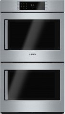 "Benchmark Series, 30"", Double Wall Oven, SS, EU conv./EU conv., TFT Touch Control, Right Swing Product Image"