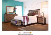 Queen Platform Bed Product Image