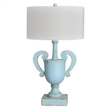 Luxe Lamp Base-lg w/ Shade