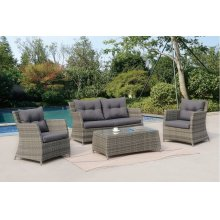 4 Piece Outdoor Patio Set
