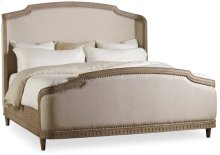 Corsica California King Upholstery Shelter Bed