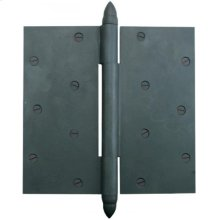 Silicon Bronze-Butt Hinge With Acorn Finial Cap