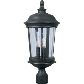 Dover VX 3-Light Outdoor Pole/Post Lantern