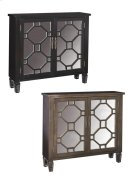 Hex Fret 2-Door Consoles Product Image