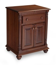 Savannah Deluxe Nightstand with Doors