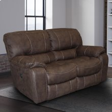 Jupiter Dark Kahlua Manual Loveseat