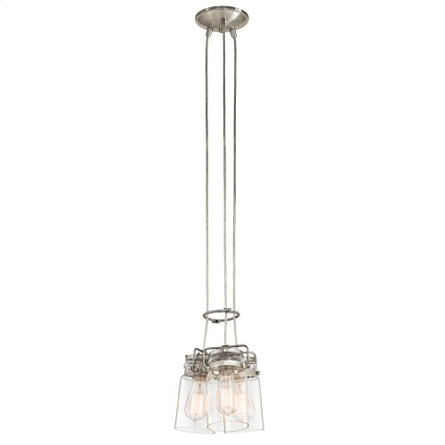 Brinley Collection Brinley 3 light Pendant NI