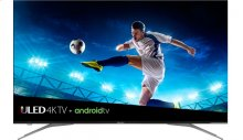 "55"" class H9E Plus series - Hisense 2018 Model 55"" class H9E Plus (54.6"" diag.) 4K UHD Android TV with HDR, Google Assistant"
