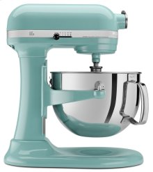Pro 600 Series 6 Quart Bowl-Lift Stand Mixer - Aqua Sky
