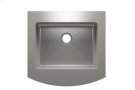 "Classic+ 000161 - farmhouse stainless steel Kitchen sink , 24"" × 18"" × 8"" Product Image"