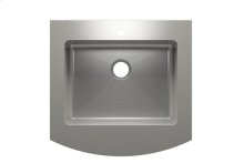 "Classic+ 000161 - farmhouse stainless steel Kitchen sink , 24"" × 18"" × 8"""