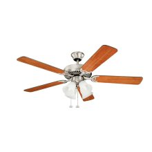 "Basics Premier 52"" Fan Brushed Nickel"