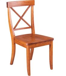 La Croix Side Chair w/ Wood Seat