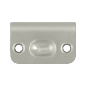 Strike Plate for Ball Catch and Roller Catch - Brushed Nickel