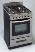 "Model DG2450SS - 24"" Deluxe Gas Range - Elite Series Product Image"