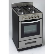 "Model DG2450SS - 24"" Deluxe Gas Range - Elite Series"