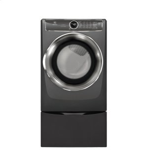Front Load Perfect Steam Electric Dryer with PredictiveDry and Instant Refresh - 8.0. Cu. Ft. Product Image