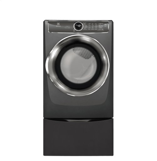 Front Load Perfect Steam Electric Dryer with PredictiveDry and Instant Refresh - 8.0. Cu. Ft., Scratch & Dent