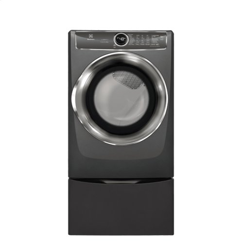 Front Load Perfect Steam Electric Dryer with PredictiveDry and Instant Refresh - 8.0. Cu. Ft. (OPEN BOX CLOSEOUT)