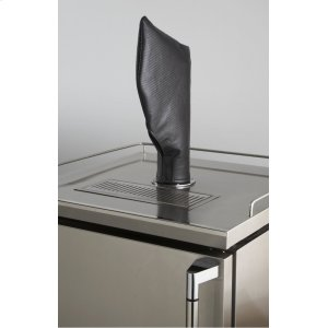 LynxBeverage Dispenser Tower / Tap Head Carbon Fiber Vinyl Cover