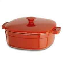 KitchenAid Streamline Cast Iron 6-Quart Casserole - Autumn Glimmer