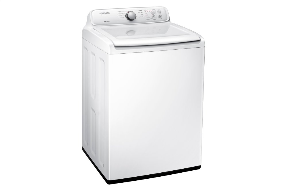 Samsung Wa3000 4 0 Cu Ft Top Load Washer With Self Clean